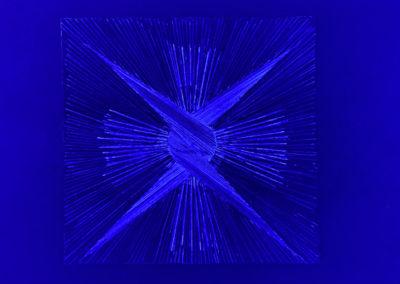 Sirius Ballpoint under Blue L.E.D.