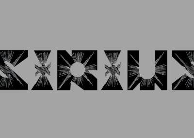 Original Font - Sirius b&w on grey